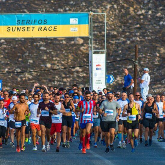 Serifos sunset race